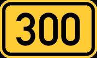 200px-Bundesstraße_300_number.svg